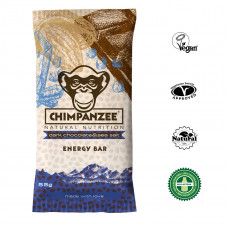 CHIMPANZEE ENERGY BAR CHOCOLATE NEGRO CON SAL MARINA