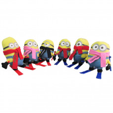 PELUCHE MINION C/SKIS PACK 6 UNI
